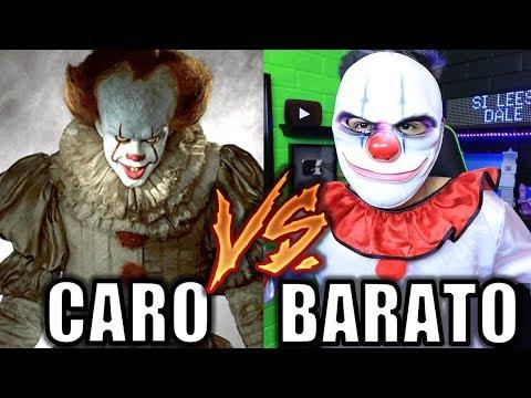 ¡DISFRACES CAROS VS BARATOS! ¿Miedo o risa? - [ANTRAX] ☣