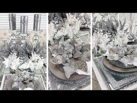 DIY Dollar Tree Christmas Decor | Hobby Lobby DIY Holiday Glam Tablescape Ideas