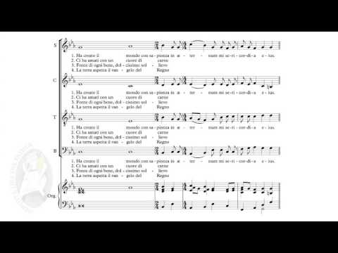 Misericordes sicut Pater! - Hymn of the Jubilee of Mercy | music score | 1080p