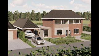 1974 Restyle woonhuis Stevensbeek