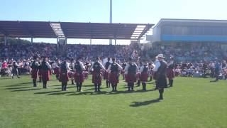 Manawatu Scottish  - Medley, Nationals 2015