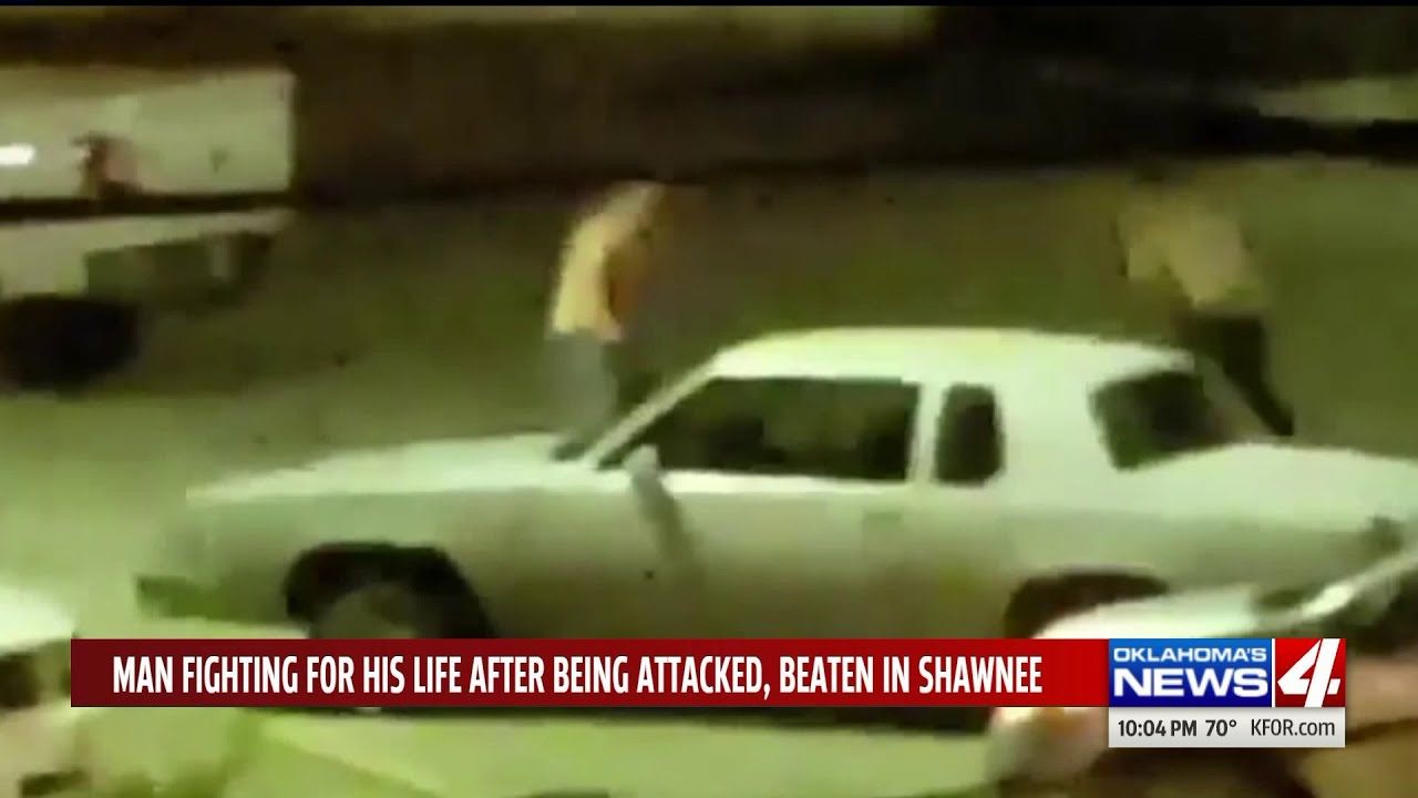 Men yell racial slur after attacking, beating Shawnee man