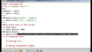Python Turtle Graphics Q&A Part 1