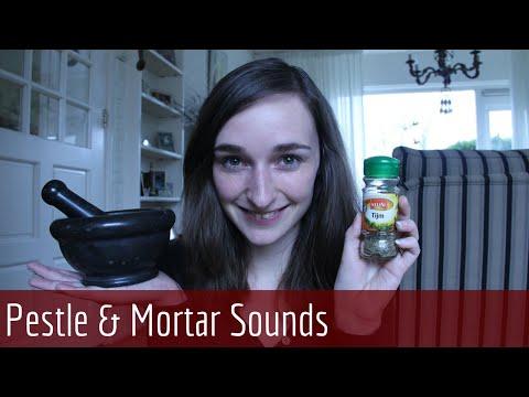 ASMR Sound Mixture - Crushing, Grinding & Mixing Herbs