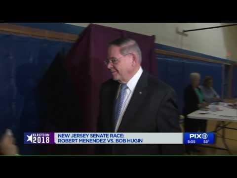 New Jersey Senate Race: Robert Menendez v. Bob Hugin