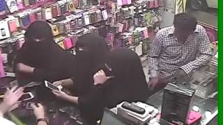 Ethiopian in KSA - Habesha guy on Robbery duty in mobile shop center
