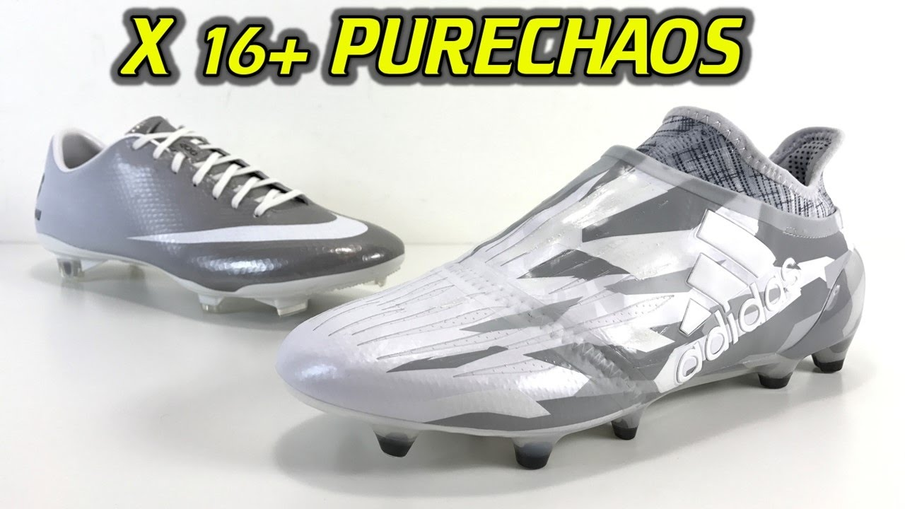 cheap for discount 6e375 0a005 Adidas X16+ Purechaos (Grey Camo Pack) - One Take Review + On Feet
