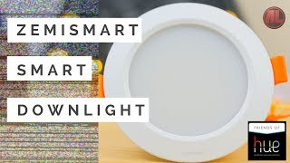 Zemismart Smart Downlight Review - Compatible With Hue Bridge, Amazon Echo & Google Home