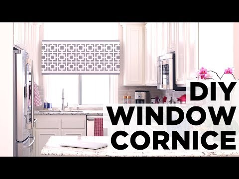 How to Make a Window Cornice Box - HGTV