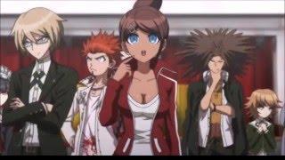 danganronpa the animation japanese vs english comparison