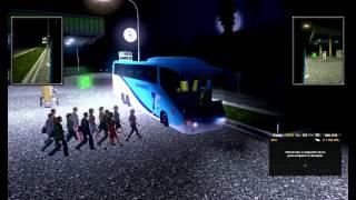 Mod de passageiros + ônibus transnorte Euro Truck Simulator 2
