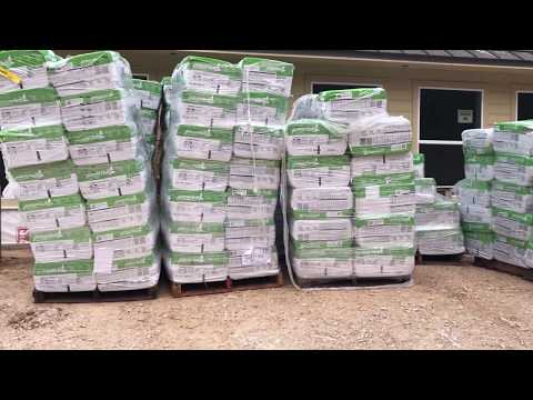 Insulating the House- Cellulose Densepack and Blown Attic