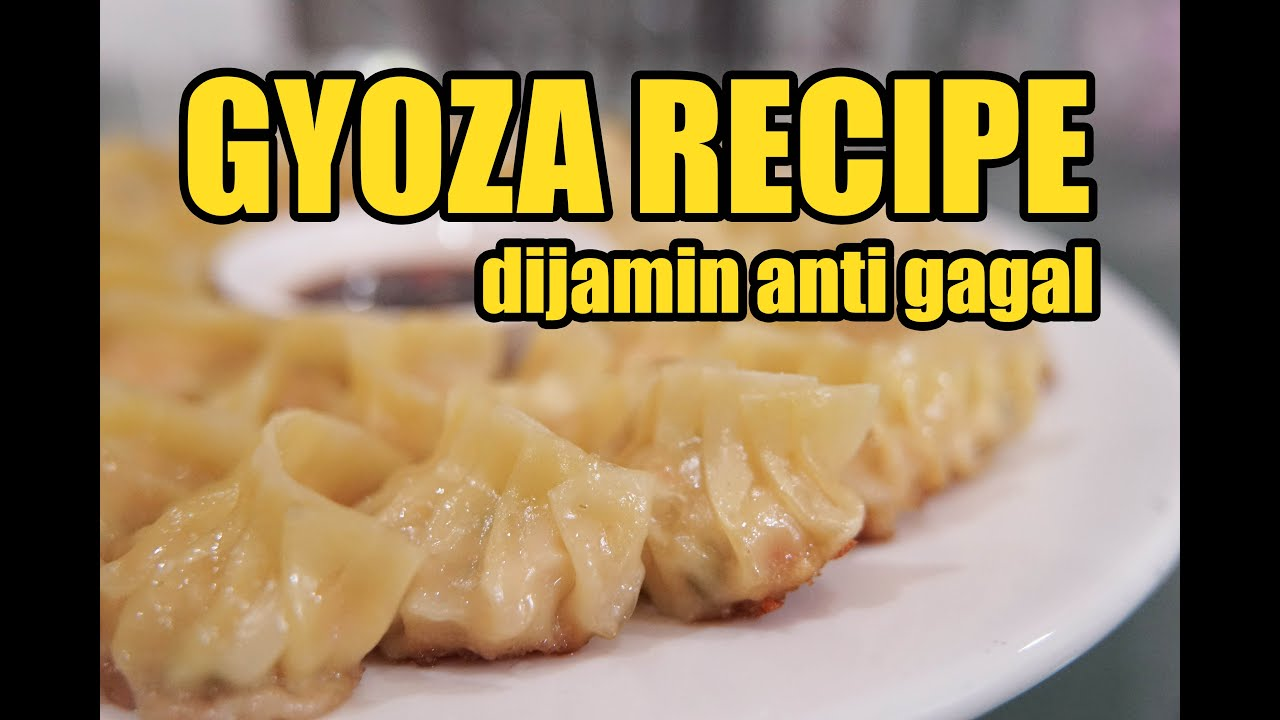 Ricetta Gyoza Hiroo.Gyoza Recipe Gyoza Ayam Udang Dijamin Anti Gagal Youtube
