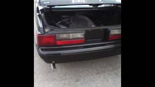 1993 North Carolina State Highway Patrol SSP Mustang Video 2 of 5