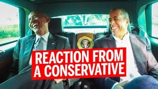 Obama Appears in Jerry Seinfeld's Comedians in Cars Getting Coffee (Conservative Reaction)