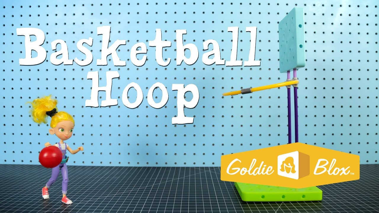 How to build a basketball hoop youtube for How to build a basketball goal