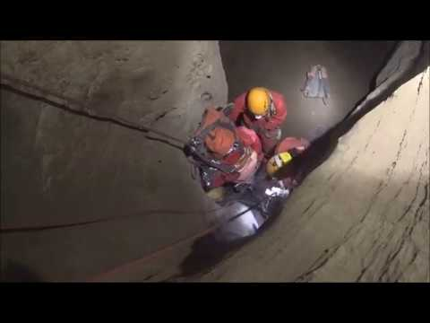 NSW Cave Rescue Squad training exercise, Jenolan Caves, October 2017