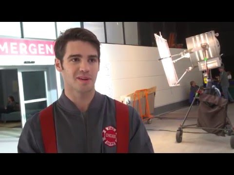 Chicago Fire - Interview with Steven R. McQueen