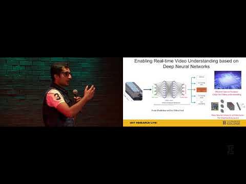 2017 Research Live! Finalist: Kartik Hegde – Fast Real-Time Video