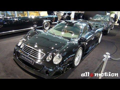 Mercedes Benz Clk Gtr V12 Black By Mechatronik Retro Clics 2016