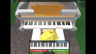 River Flows In You Roblox Virtual Piano By Yourlobstersalad