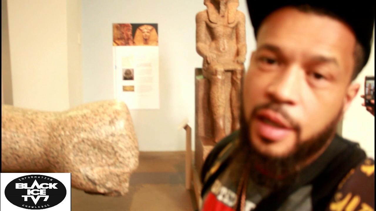 EXCLUSIVE! Seti invades the british museum