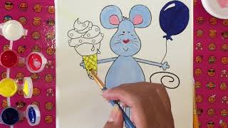 Mouse painting