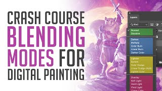 Photoshop's Blending Modes for Digital Painting