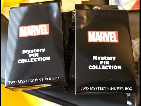 First Look at Marvel's Comic-Con 2015 Pins