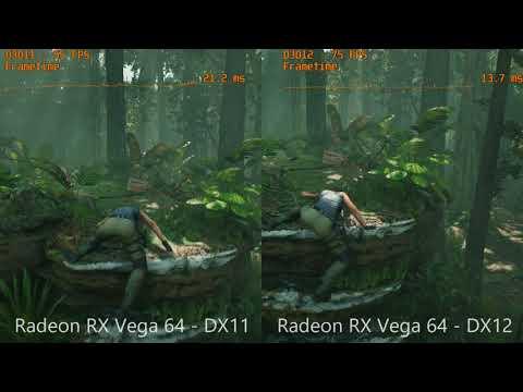 shadow of the tomb raider \u2013 gtx 1080 vs rx vega 64 mit dx11 undshadow of the tomb raider \u2013 gtx 1080 vs rx vega 64 mit dx11 und dx12 youtube