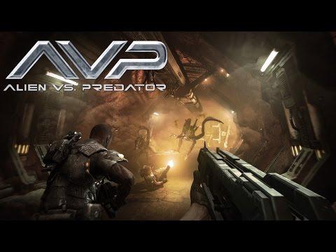 Aliens Vs Predator Funny Moments - C Block Survival, Dancing Aliens, and Marine Slaughter!