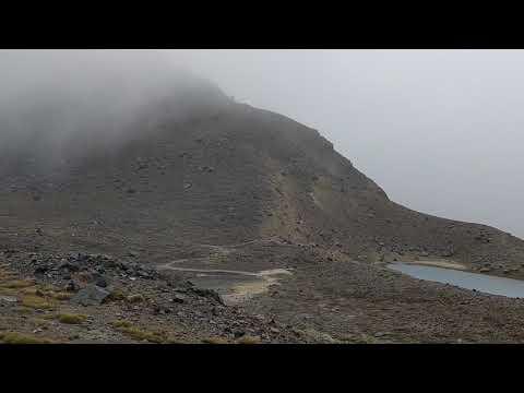 Tongariro Trekk , New Zealand || Bad Weather
