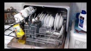 Посудомоечная машина Candy CDCF 6S Отзыв с субтитрами(Снято смартфоном Леново Р780. Куплена в 2014 году.Семья 5 человек. Простите за языковой каламбур во время коммен..., 2016-03-25T19:38:26.000Z)