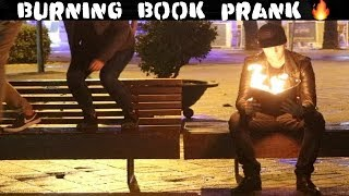 BURNING BOOK PRANK 🔥-Julien Magic