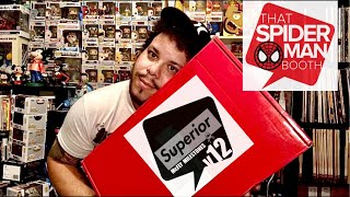 Unboxing a THATSPIDERMANBOOTH superior V12 mystery box