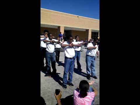 Houston Academy Step Team