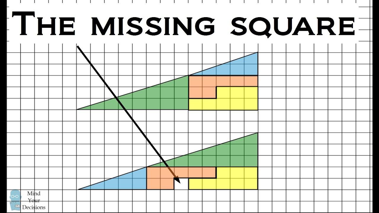 the missing square illusion