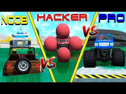 NOOB vs PRO vs HACKER crashes #13 - Beamng drive (cars crashes)