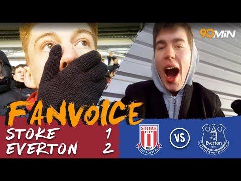 Tosun double gives Everton the 2-1 win over 10-man Stoke!   Stoke 1-2 Everton   90min FanVoice