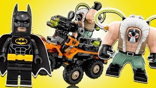 Lego Batman Movie 70914 Bane™ Toxic Truck Attack - ХИМИЧЕСКАЯ АТАКА БЭЙНА . LEGO ОБЗОР