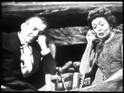 Very Rare Ed Sullivan Interview w/ wife Sylvia