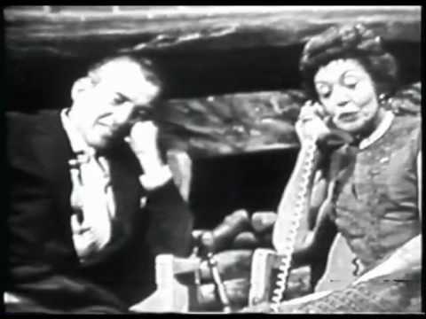 Very Rare Ed Sullivan Interview w/ wife Sylvia