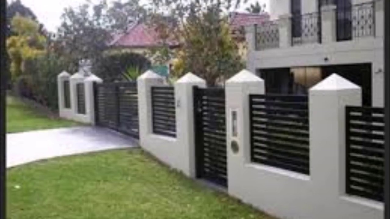 Amazing wall fence designs 2 YouTube