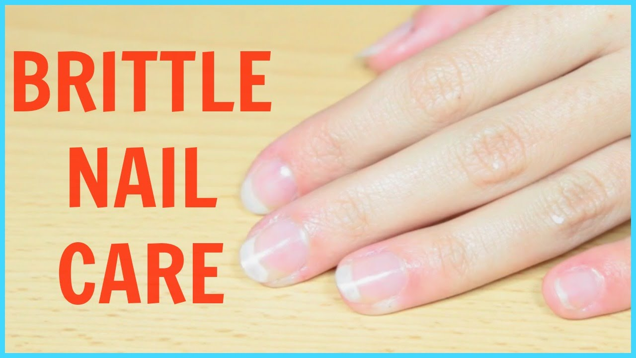 Nail Care Routine for Brittle Nails - YouTube
