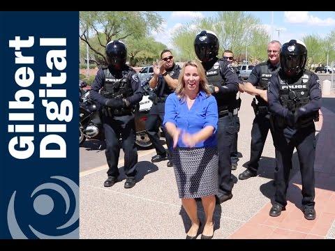 Be Kind Dance Challenge: Gilbert Police & Mayor Daniels