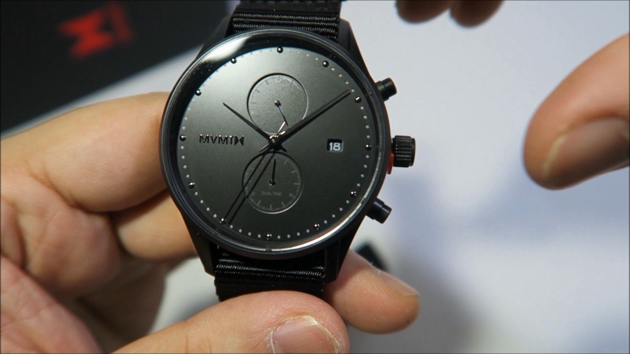 Mvmt watches onyx voyager review 2017 youtube for Mvmt watches