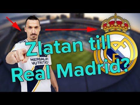 Hur Zlatan kan gå till Real Madrid i vinter! | Fotboll24