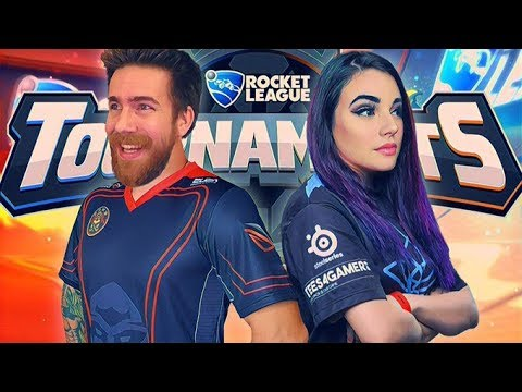 Athena and I try to WIN a Rocket League tournament! - YouTube
