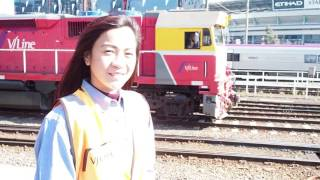 Meet Rochelle Lacson - V/Line's newest cadet engineer