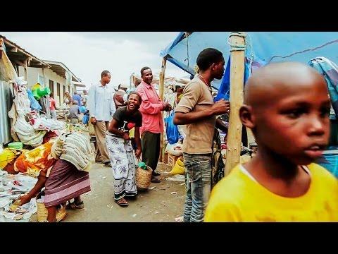 African market, Tanzania, Africa.